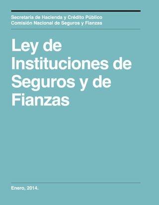 ley general de instituciones y sociedades mutualistas de seguros de mexico